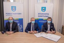 Podpisanie umowy z firmą ECOZET z Kalisk Kościerskich