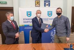 Podpisanie umowy z Przewozy Autobusowe Gryf