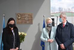 Bogdan Łapa Starosta Kartuski, Małgorzata Bielang Pomorska Kurator Oświaty,