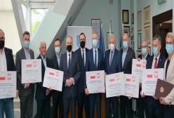 Podpisanie umów na dofinasowania z Rządowego Funduszu Rozwoju Dróg