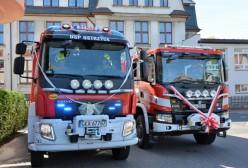 Jednostki OSP z Sulmina i Ostrzyc odebrały nowe wozy bojowe
