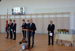 Uroczyste otwarcie hali sportowej przy Powiatowym Zespole Szkół w Przodkowie