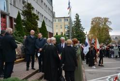 Starosta Kartuski Bogdan Łapa wraz z Wiceprzewodniczącym Rady Powiatu Kartuskiego Mirosławem Szutenbergiem