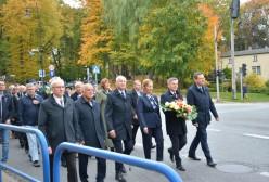 delegacja władz powiatu kartuskiego i gminy Kartuzy