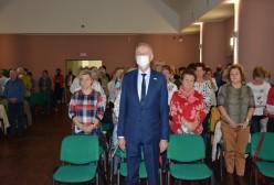 Inauguracja roku akademickiego na Uniwersytecie Trzeciego Wieku w Kartuzach, Starosta Kartuski Bogdan Łapa
